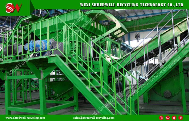 China tire shredder