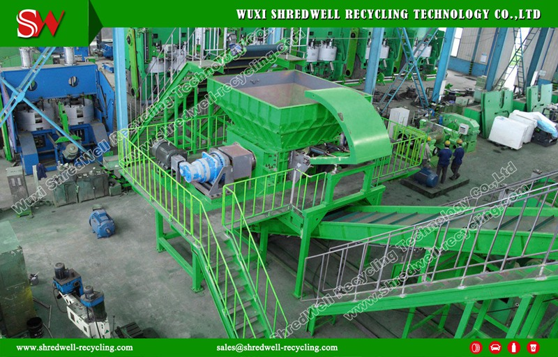 SHREDWELL Tire Shredder for USA | Tire Shredding Equipment ...