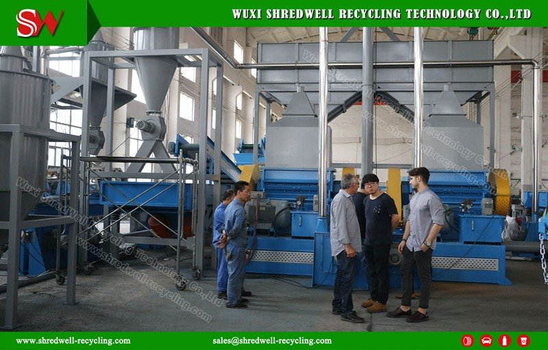 China automatic rubber crumb line with top quality