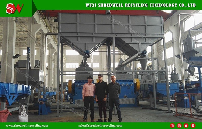 automatic rubber crumb line with best price