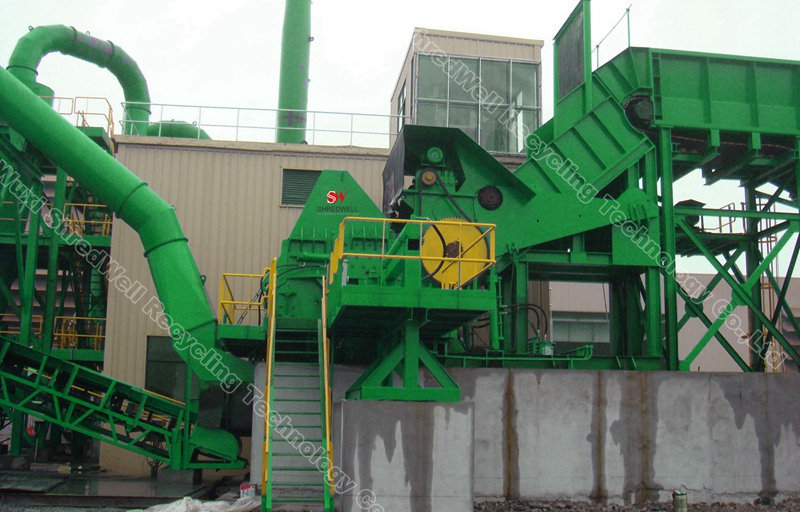 SHREDWELL Super Robust metal hammer mill shredder