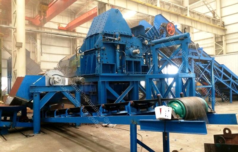 hammer mill shredders for scrap metal from SHREDWELL