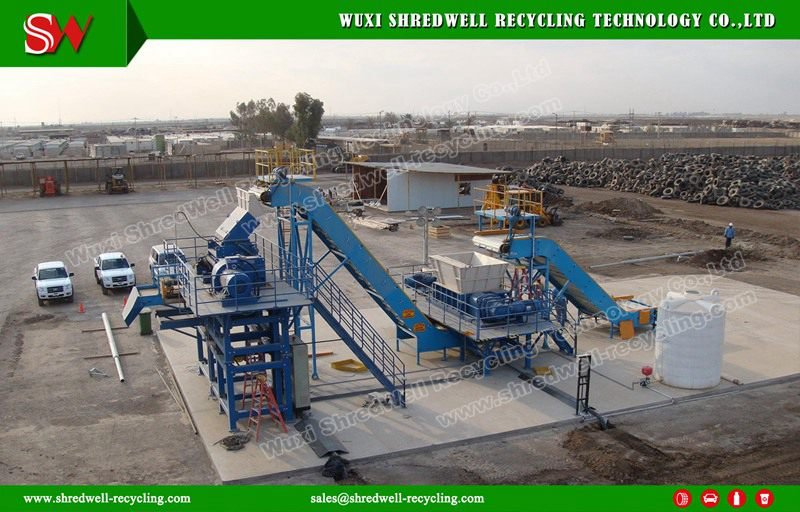 Metal Drum Shredding Shredwell Recycling