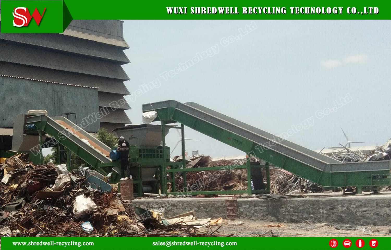 New metal hammer shredding in India