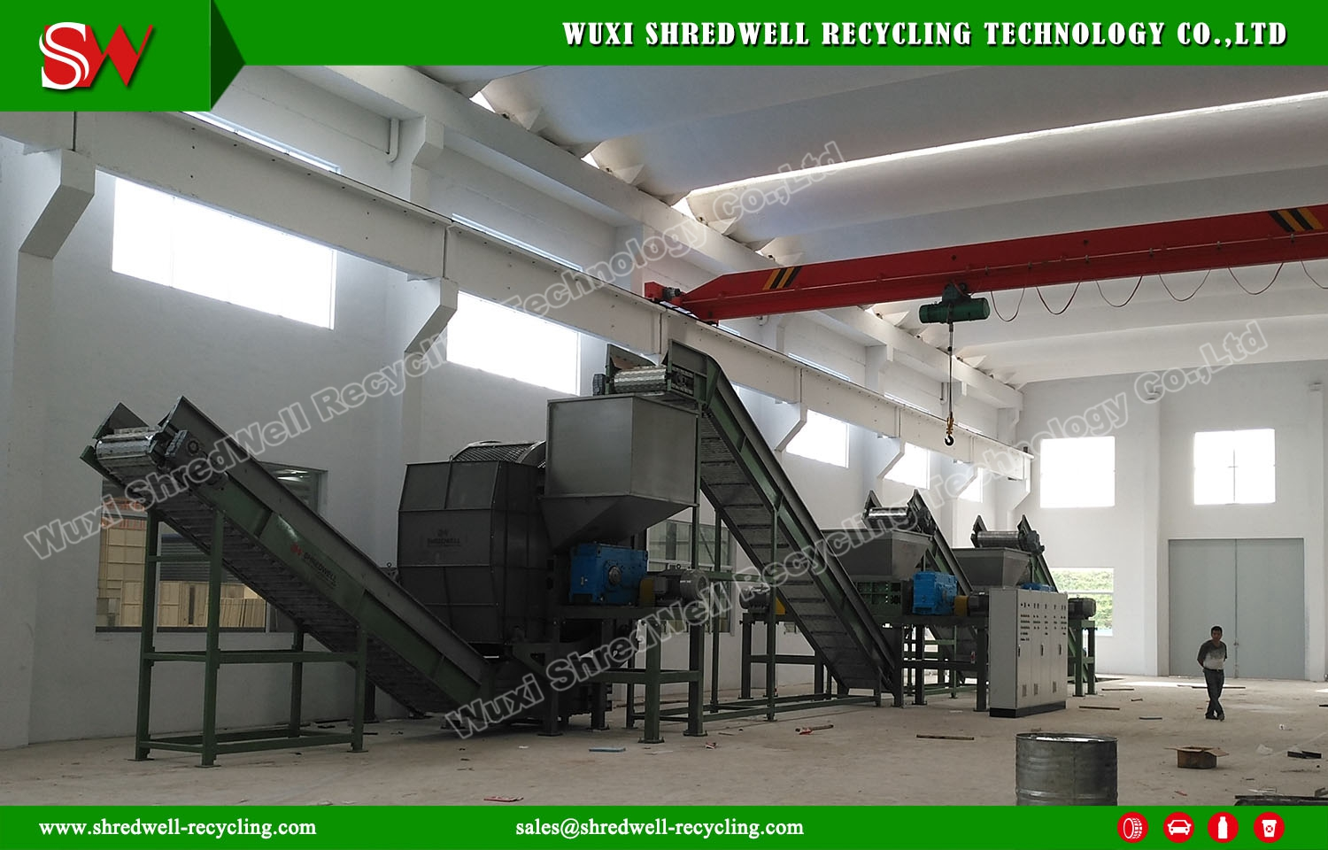 Scrap Metal Shredder Successfully Installation and Commissioning
