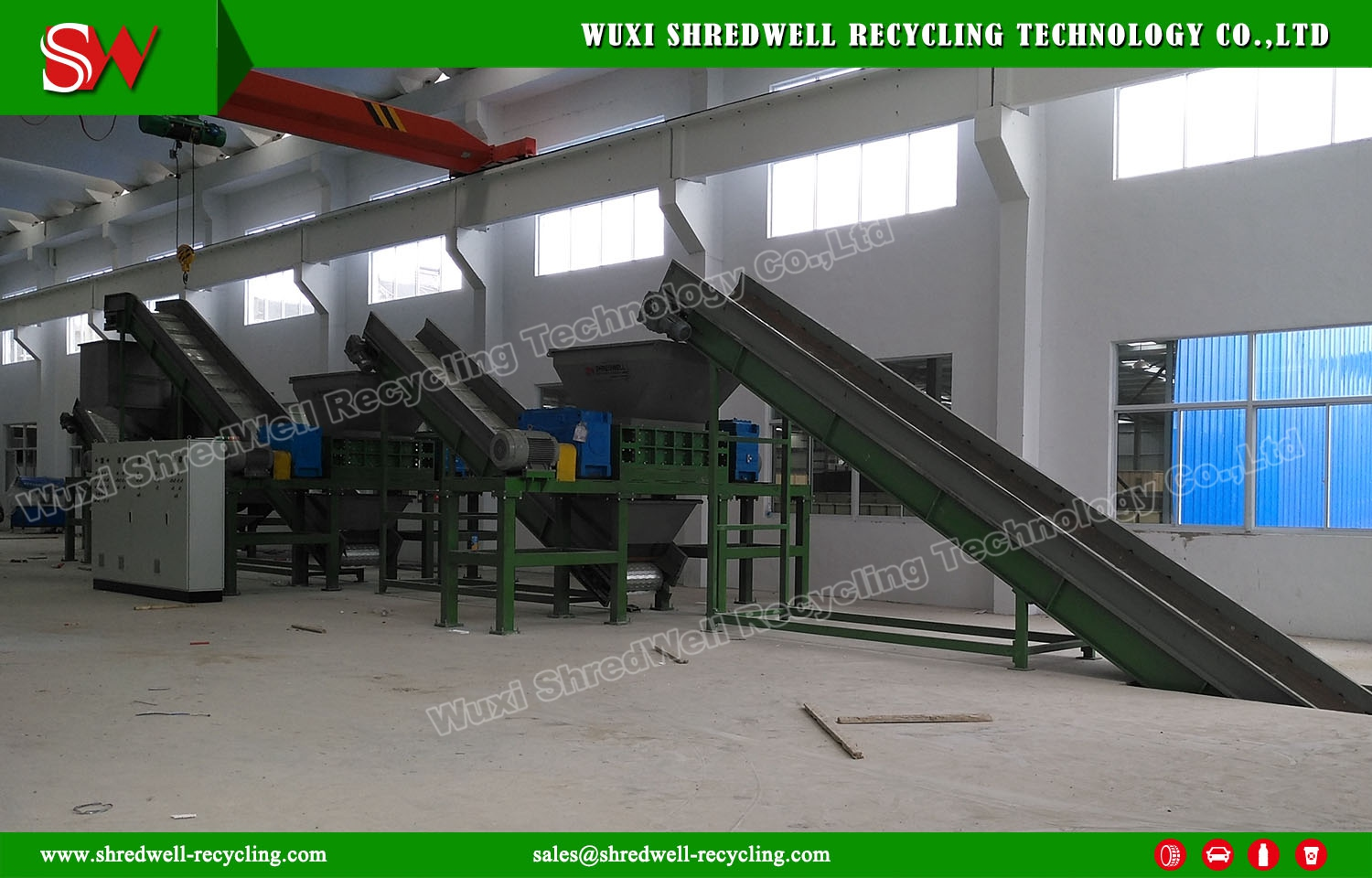 Scrap Steel Shredder Successfully Installation and Commissioning