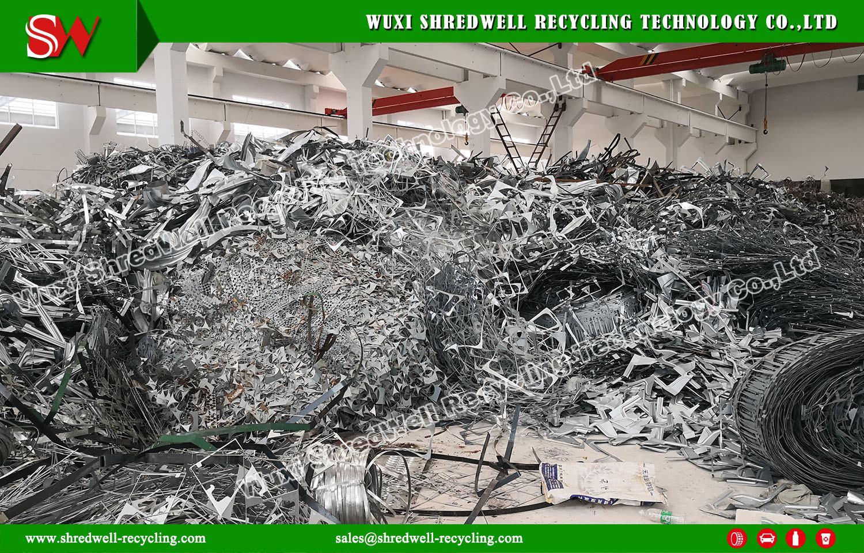 Shredwell Scrap Metal Shredder for Installation