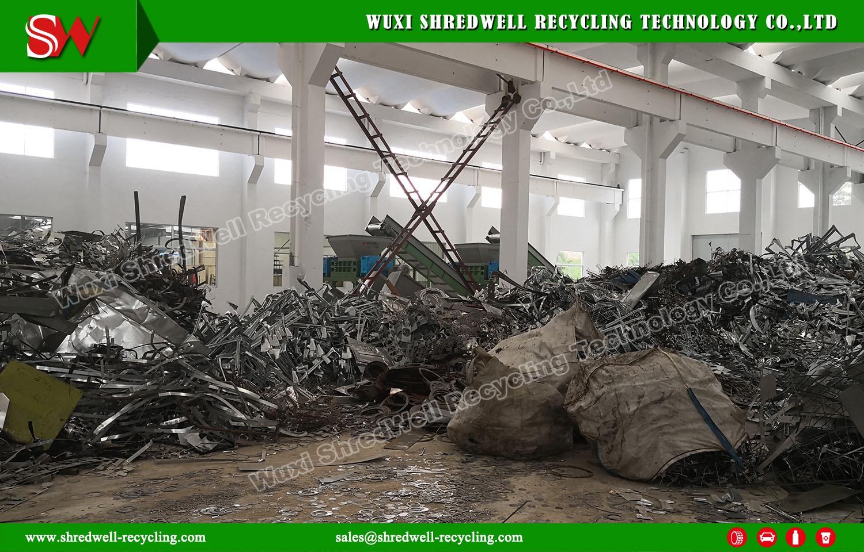 Shredwell Scrap Steel Shredder for Installation