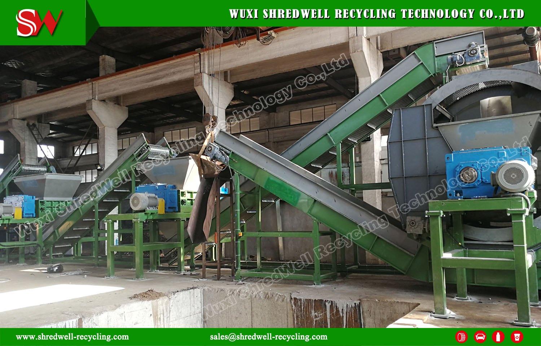 Shredwell New Waste Metal Shredders Installed