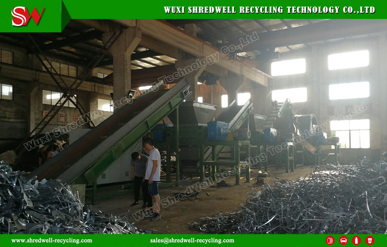 Shredwell Waste Metal Shredders Installed in Wuxi City