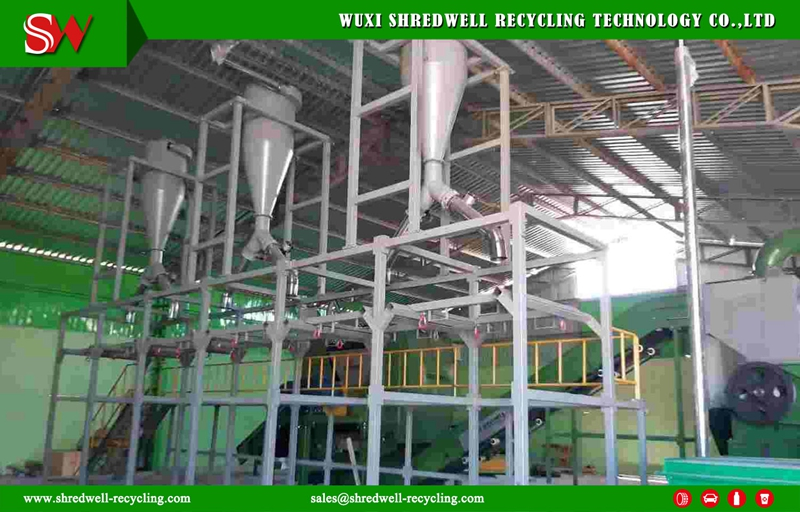 Chile Tire Recycling Plant Installed