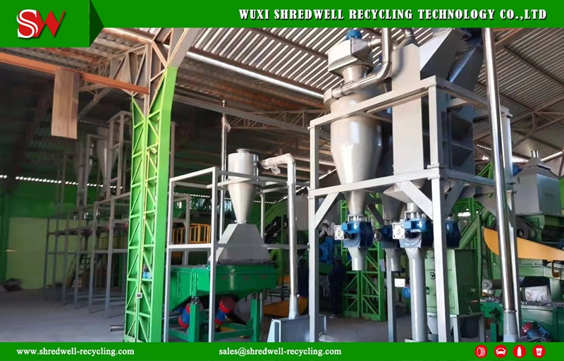 Shredwell Tire Recycling Plant