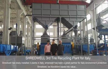 Italy Tire Recycling Plant Vincent Xiao